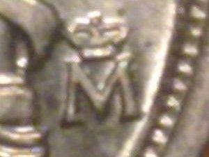 Cecas alemanas en las monedas de 10 pesetas