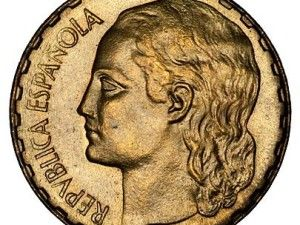 1 peseta de 1937