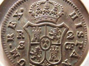 Óxido en las monedas de plata