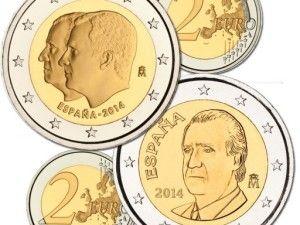 Monedas y medallas de la proclamación de Felipe VI