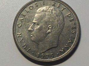Monedas de Juan Carlos I churretosas