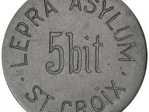 Monedas para lazaretos a principios del siglo XX