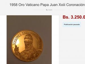 Medalla del papa Juan XXIII